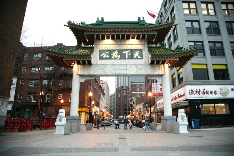 Welcome To Chinatown A Designated Neighborhood In Boston Ma
